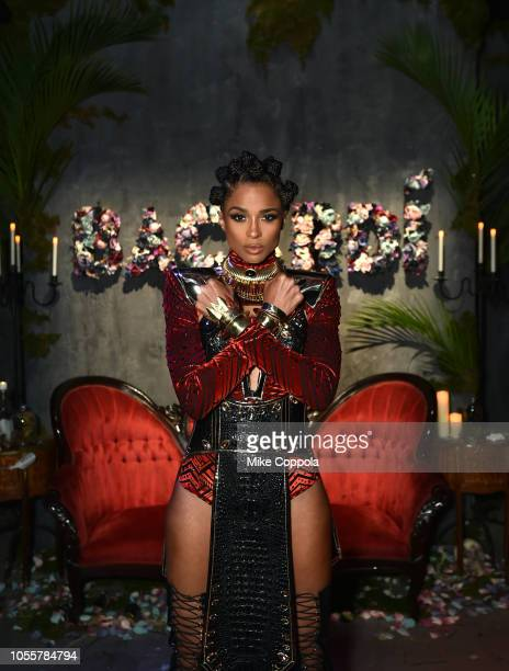Singer, dancer Ciara attends as BACARDI presents Liberate Your Spirits With Ciara For Halloween on October 30, 2018 in New York City.