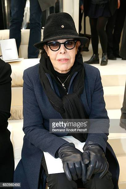 Singer Dani attends the Chanel Haute Couture Spring Summer 2017 show as part of Paris Fashion Week on January 24 2017 in Paris France