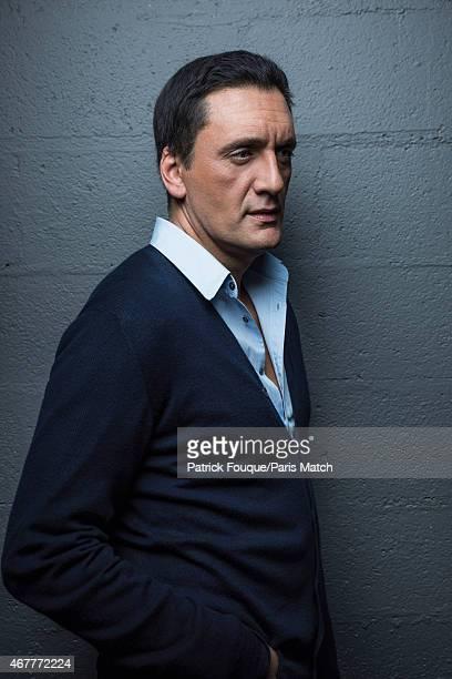 Singer Dani Brillant is photographed for Paris Match on November 21 2014 in Paris France