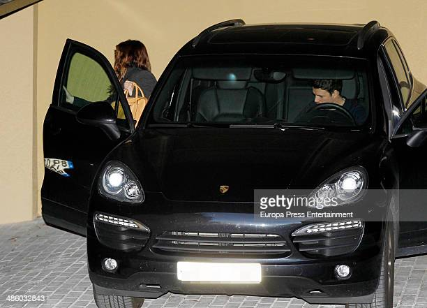 Singer Dani Martin and actress Blanca Suarez are seen on March 18 2014 in Madrid Spain