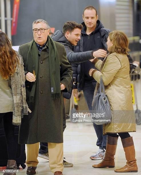 Singer Dani Martin is seen on February 20 2014 in Madrid Spain