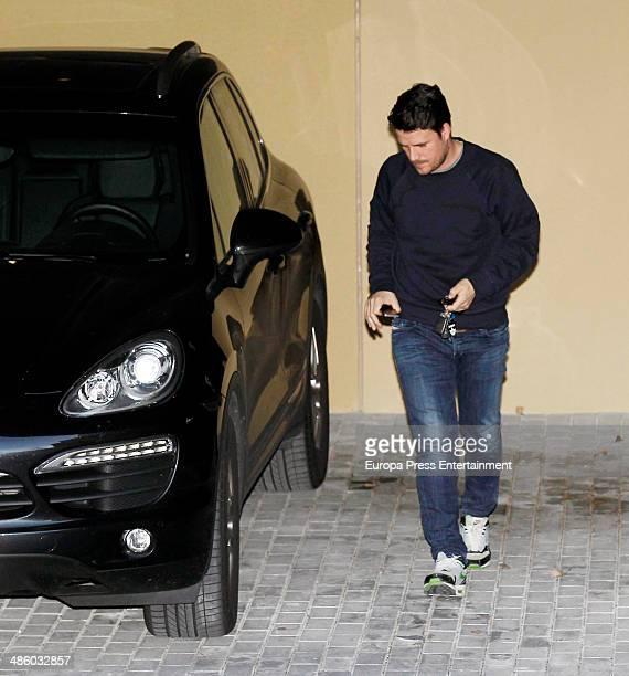 Singer Dani Martin is seen on March 18 2014 in Madrid Spain