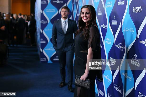 Singer Dani Nisim attends the 2nd Annual unite4humanity presented by ALCATEL ONETOUCH at the Beverly Hilton Hotel on February 19 2015 in Los Angeles...