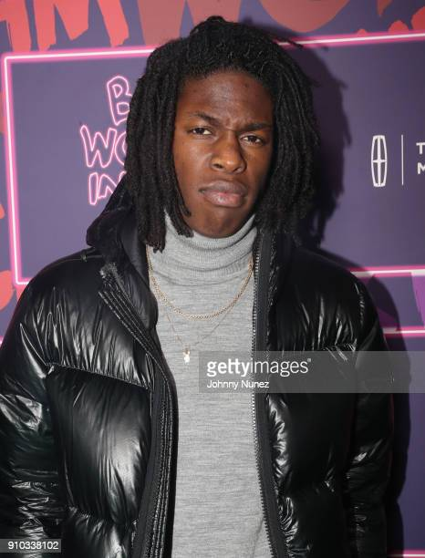 Singer Daniel Caesar attends the Essence 9th annual Black Women in Music at Highline Ballroom on January 25 2018 in New York City
