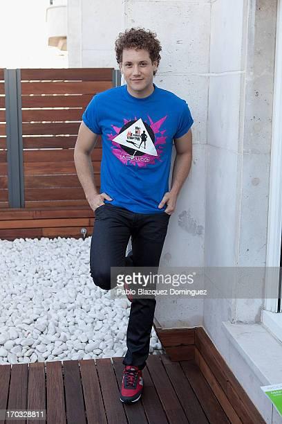 Singer Daniel Diges attends 'Hoy No Me Puedo Levantar' presentation at Torre Madrid on June 11 2013 in Madrid Spain