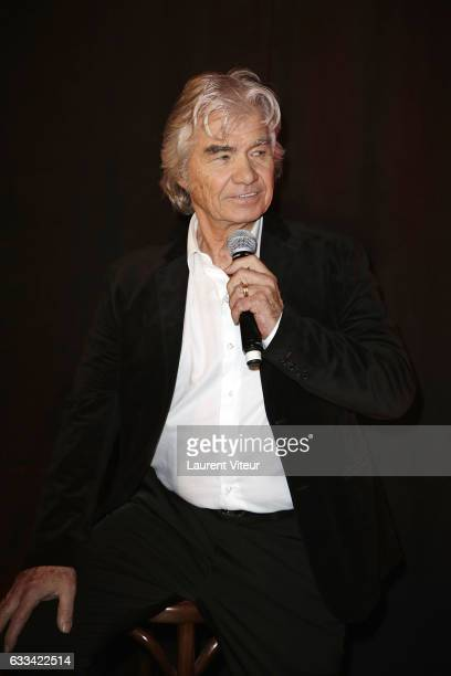 Singer Daniel Guichard performs during Le Coeur des Femmes by Tony Carreira Launch Party at L'Arc on February 1 2017 in Paris France