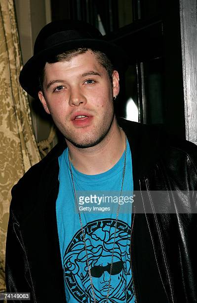 Singer Daniel Merriweather arrives at the Ibiza Rocks with Sony Ericsson launch party at The Lock Tavern Camden on May 14 2007 in London England The...