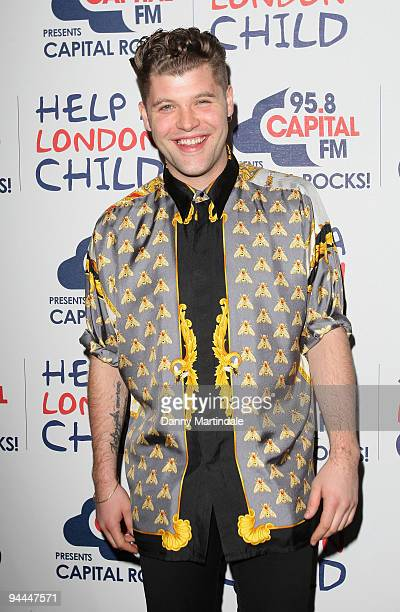 Singer Daniel Merriweather attends Capital Rocks in aid of Help A London Child at Old Billingsgate Market on December 14 2009 in London England