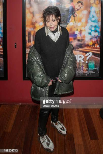 Singer Daniele Graule aka Dani attends the Docteur photocall at cinema Publicis on November 21 2019 in Paris France