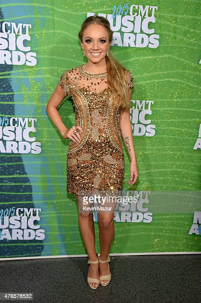 Singer Danielle Bradbery attends the 2015 CMT Music awards at the Bridgestone Arena on June 10 2015 in Nashville Tennessee