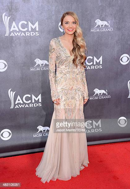 Singer Danielle Bradbery attends the 49th Annual Academy Of Country Music Awards at the MGM Grand Garden Arena on April 6 2014 in Las Vegas Nevada