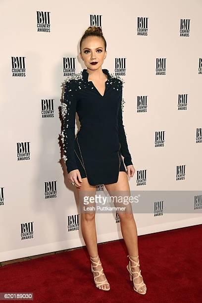 Singer Danielle Bradbery attends the 64th Annual BMI Country awards on November 1 2016 in Nashville Tennessee