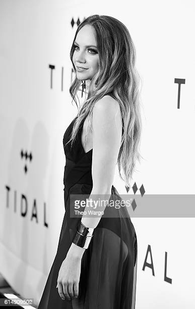 Singer Danielle Bradbery attends TIDAL X 1015 on October 15 2016 in New York City