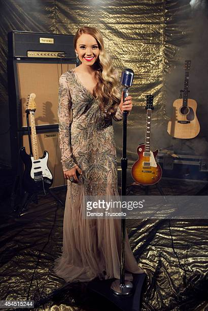 Singer Danielle Bradbery poses for a portrait at the Academy of Country Music Awards for People Magazine on April 6 2014 in Las Vegas Nevada