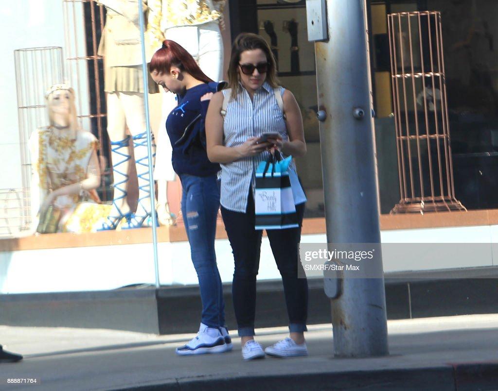 Celebrity Sightings In Los Angeles - December 08, 2017