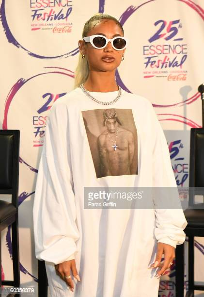 Singer DaniLeigh attends 2019 ESSENCE Festival at Louisiana Superdome on July 05 2019 in New Orleans Louisiana