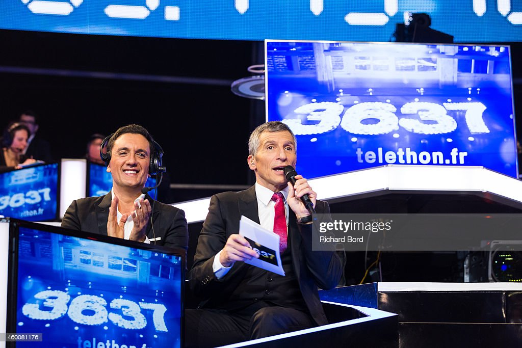 'France Television Telethon 2014' In Paris : News Photo