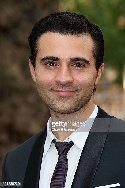Singer Darius Danesh arrives at the UK premiere of Sex And The City 2 at Odeon Leicester Square on May 27, 2010 in London, England.