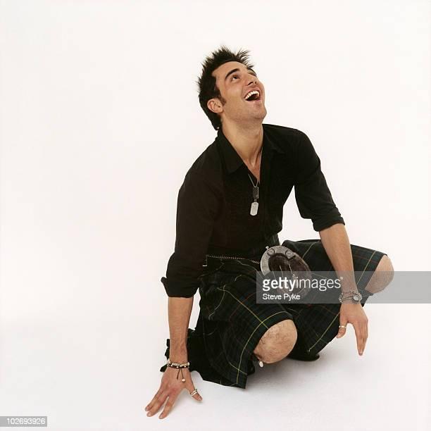 Singer Darius poses for a portrait shoot in London UK