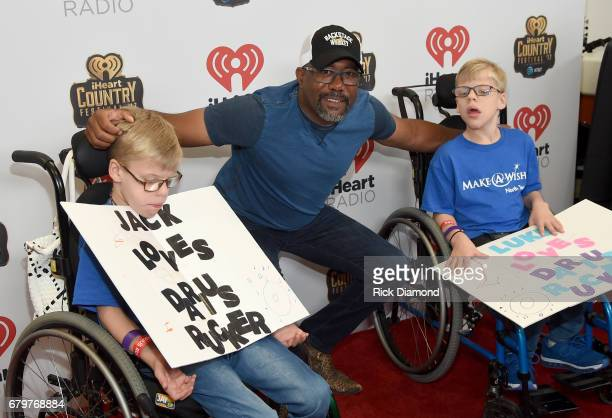 Singer Darius Rucker attends the 2017 iHeartCountry Festival A Music Experience by ATT at The Frank Erwin Center on May 6 2017 in Austin Texas