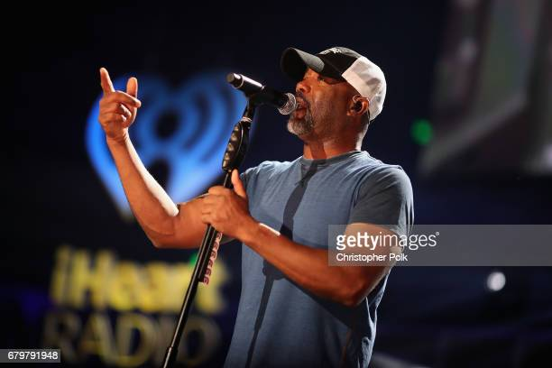 Singer Darius Rucker performs onstage during the 2017 iHeartCountry Festival A Music Experience by ATT at The Frank Erwin Center on May 6 2017 in...