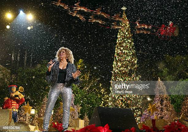 Singer Darlene Love performs at The Grove's 12th Annual Christmas Tree Lighting Spectacular Presented By Citi at The Grove on November 16, 2014 in...
