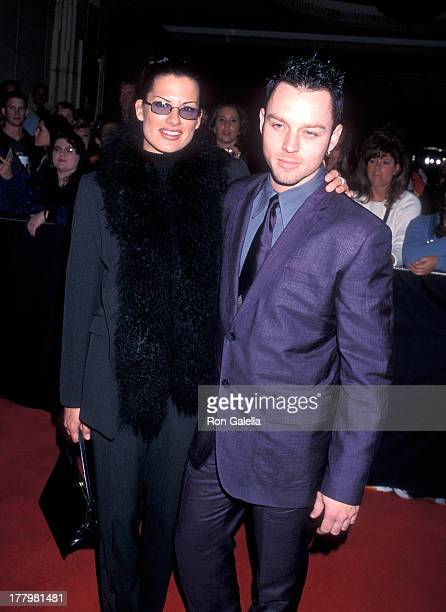 Singer Darren Hayes of Savage Garden and wife Colby Taylor attend the Ninth Annual Billboard Music Awards Pre-Party on December 6, 1998 at Studio 54,...