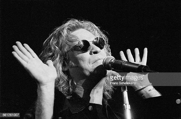 Singer Daryl Hall performs at the Paradiso on March 21st 1994 in Amsterdam Netherlands
