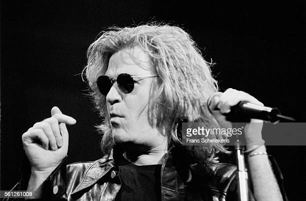 Singer Daryl Hall performs at the Paradiso on March 21st 1994 in Amsterdam, Netherlands.