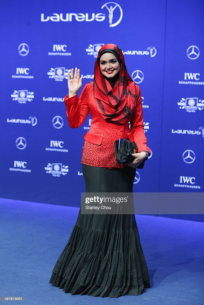 Red Carpet - 2014 Laureus World Sports Awards : News Photo