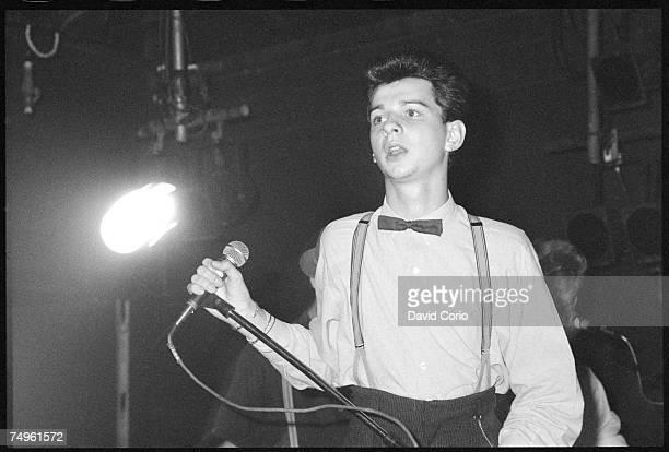 Singer Dave Gahan of Depeche Mode
