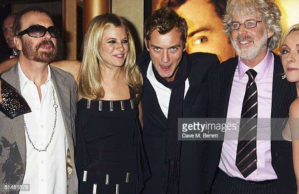 Singer Dave Stewart actress Sienna Miller actor Jude Law director Charles Shyer and actress Jane Krakowski arrive at the World Premiere of Alfie at...