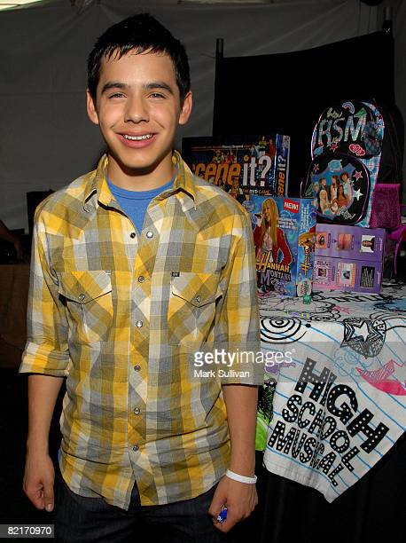 Singer David Archuleta attends the Mattel Celebrity Retreat produced by Backstage Creations at Teen Choice 2008 on August 3 2008 in Universal City...