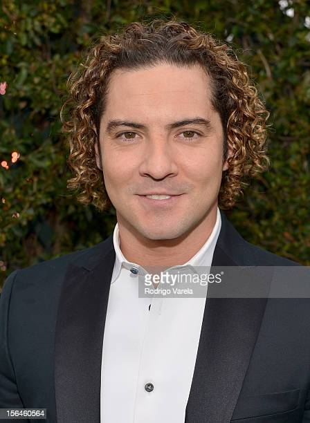 Singer David Bisbal arrives at the 13th annual Latin GRAMMY Awards held at the Mandalay Bay Events Center on November 15 2012 in Las Vegas Nevada