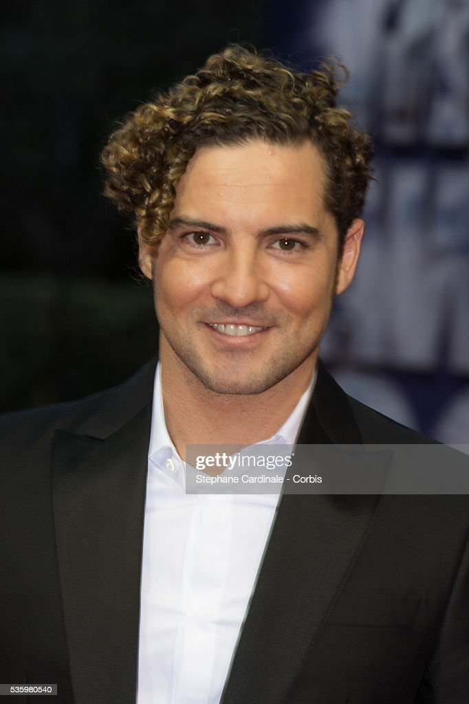 Singer David Bisbal arrives at the World Music Awards at Sporting Monte-Carlo on May 27, 2014 in Monte-Carlo, Monaco.