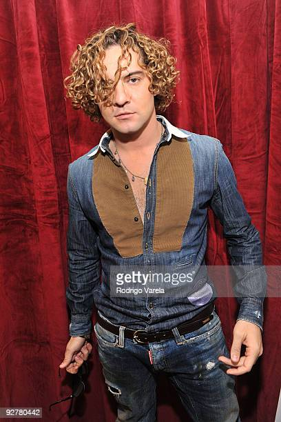 Singer David Bisbal attends the 10th Annual Latin GRAMMY Awards Univision Radio Remotes Day 3 held at the Mandalay Bay Events Center on November 4...