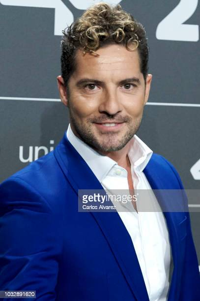 Singer David Bisbal attends the '40 Principales' awards nominated dinner at the Florida Park Club on September 13 2018 in Madrid Spain