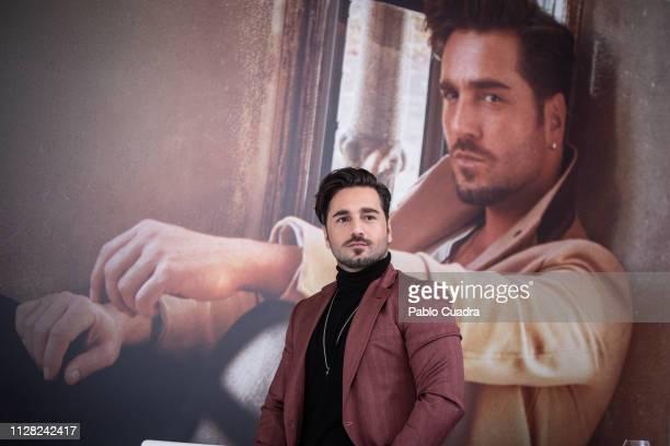 Singer David Bustamante presents 'Heroes en tiempo de guerra' on February 08 2019 in Madrid Spain