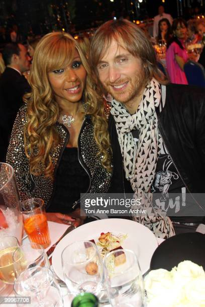 Singer David Guetta and Kathie Guetta attend the World Music Awards 2010 at the Sporting Club on May 18 2010 in Monte Carlo Monaco