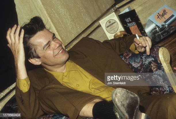 Singer David Johansen aka Buster Poindexter at the Hyatt Regency Hotel in Minneapolis, Minnesota on May 1, 1989.