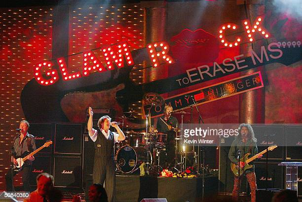 Singer David Lee Roth performs at The 11th Annual Race to Erase MS on May 14 2004 at the Century Plaza Hotel in Los Angeles California