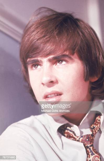 Singer Davy Jones from the pop band The Monkees poses for a portrait in 1967