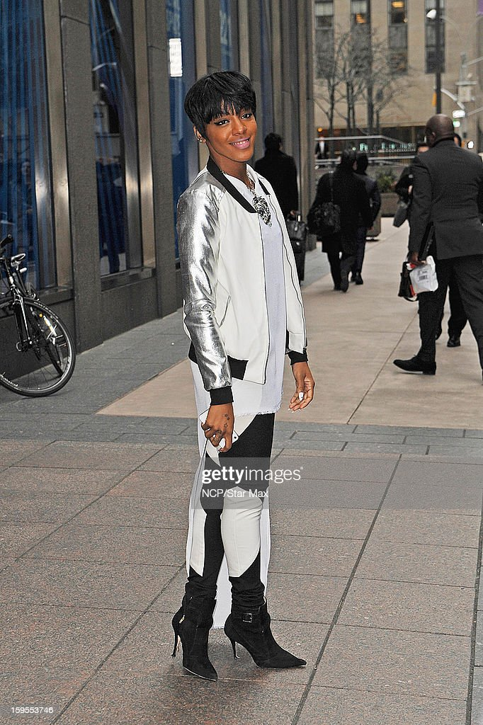 Singer Dawn Richard as seen on January 15, 2013 in New York City.