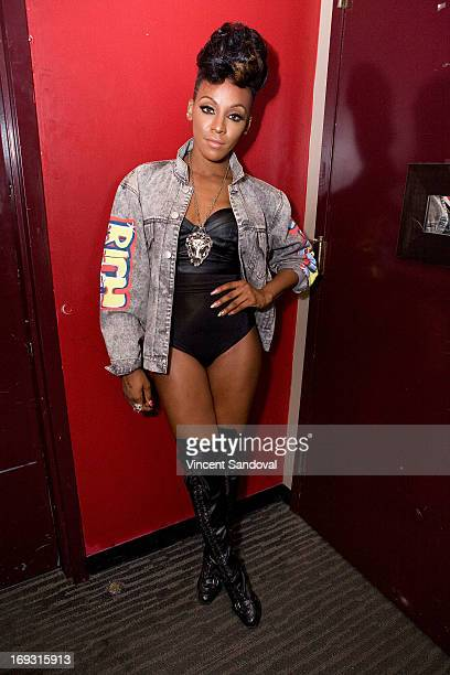 Singer Dawn Richard attends PHLEXtravaganza at Level 3 club in Hollywood Highland Center on May 22 2013 in Hollywood California