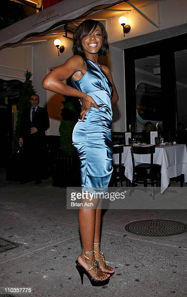 Singer Dawn Richard of Danity Kane celebrates her birthday at Philippe in on August 6 2008 in New York City