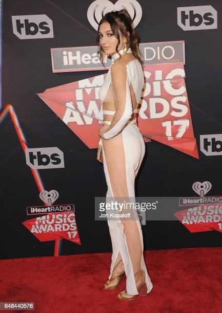 Singer Daya arrives at the 2017 iHeartRadio Music Awards at The Forum on March 5 2017 in Inglewood California