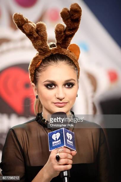 Singer Daya attends the 1027 KIIS FM's Jingle Ball 2016 on December 02 2016 in Los Angeles California