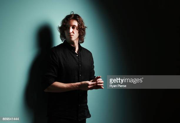 Singer Dean Lewis poses at the 31st Annual ARIA Nominations Event at Art Gallery Of NSW on October 10 2017 in Sydney Australia