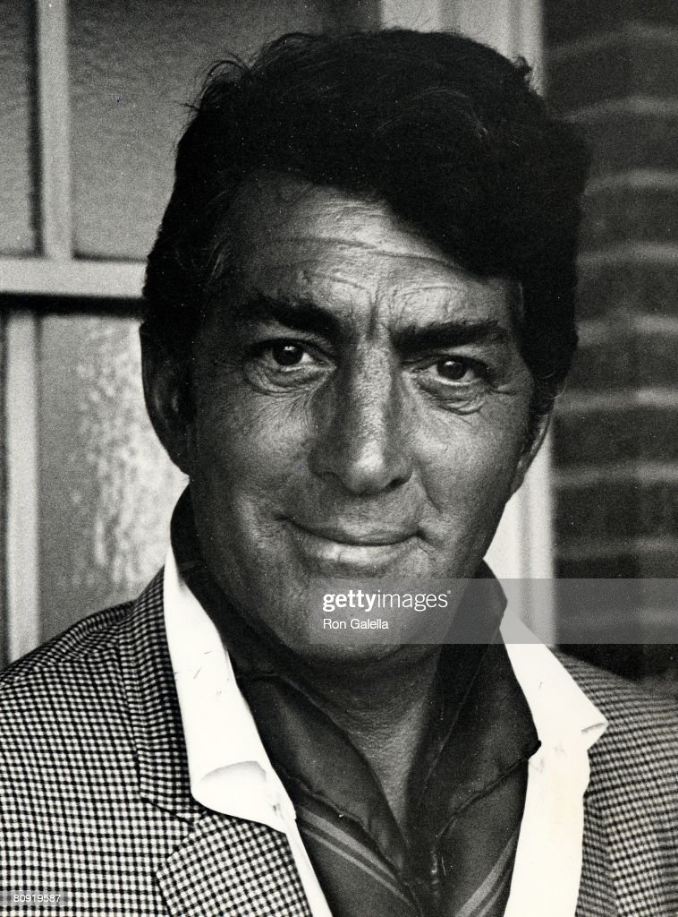 Singer Dean Martin attending the filming of 'Airport' on April 1, 1969 at Universal Studios in Universal City, California.