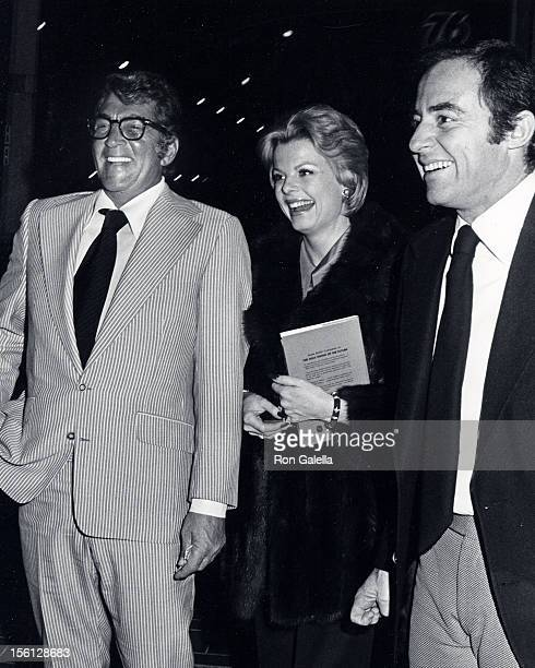 Singer Dean Martin date Catherine Hawn and Mike Vinner being photographed on April 2 1973 at Chasen's Restaurant in Beverly Hills California
